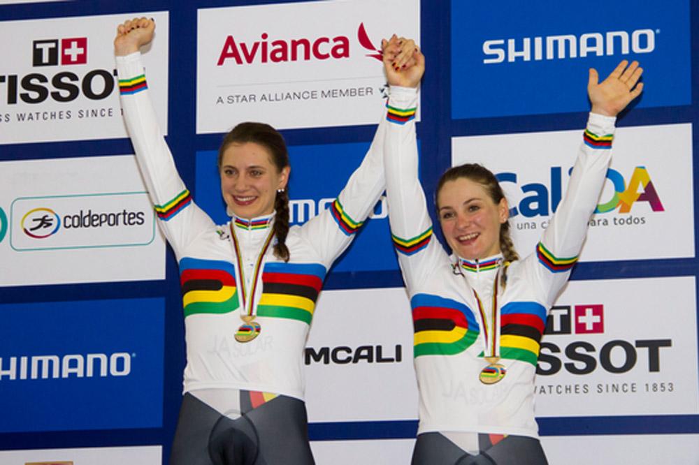 Miriam Welte et Kristina Vogel en or sur la vitesse par équipes
