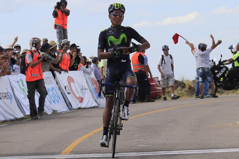 Nairo-Alexander Quintana offre à Movistar son premier succès de la saison
