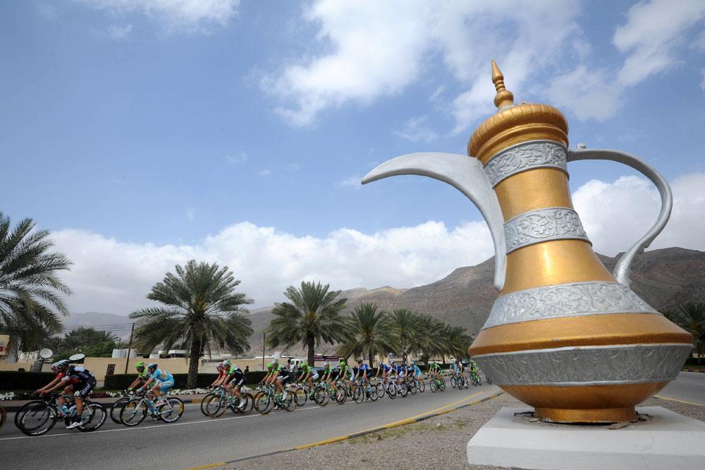 Paysage typique du Tour d'Oman