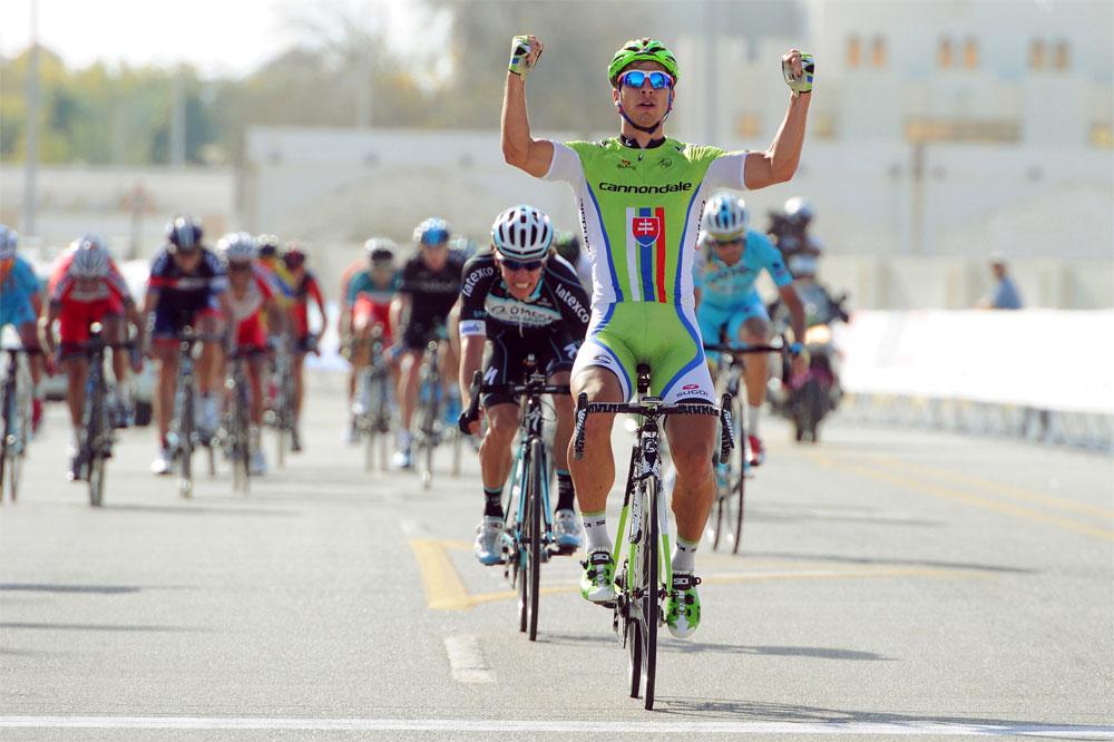 Peter Sagan se libère en s'adjugeant sa première victoire à Oman