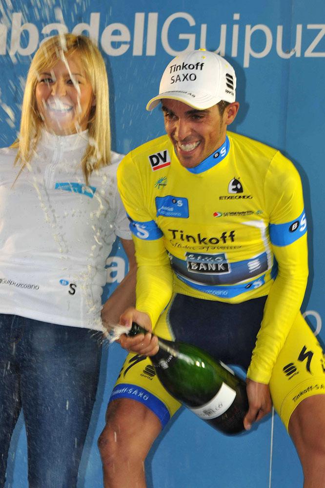 Alberto Contador jubile
