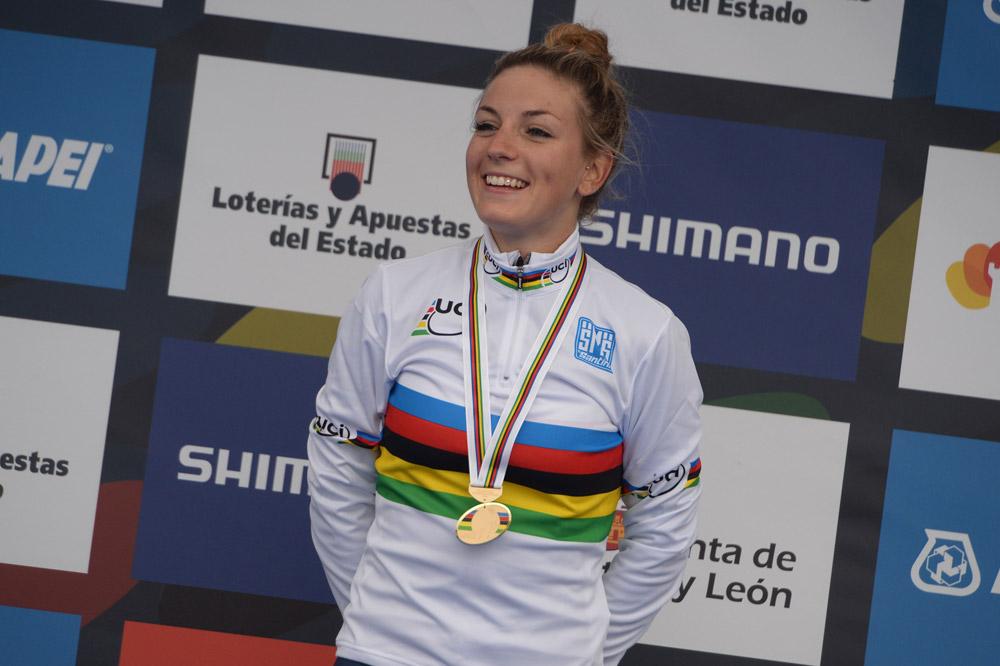 Pauline Ferrand-Prévot championne du monde !