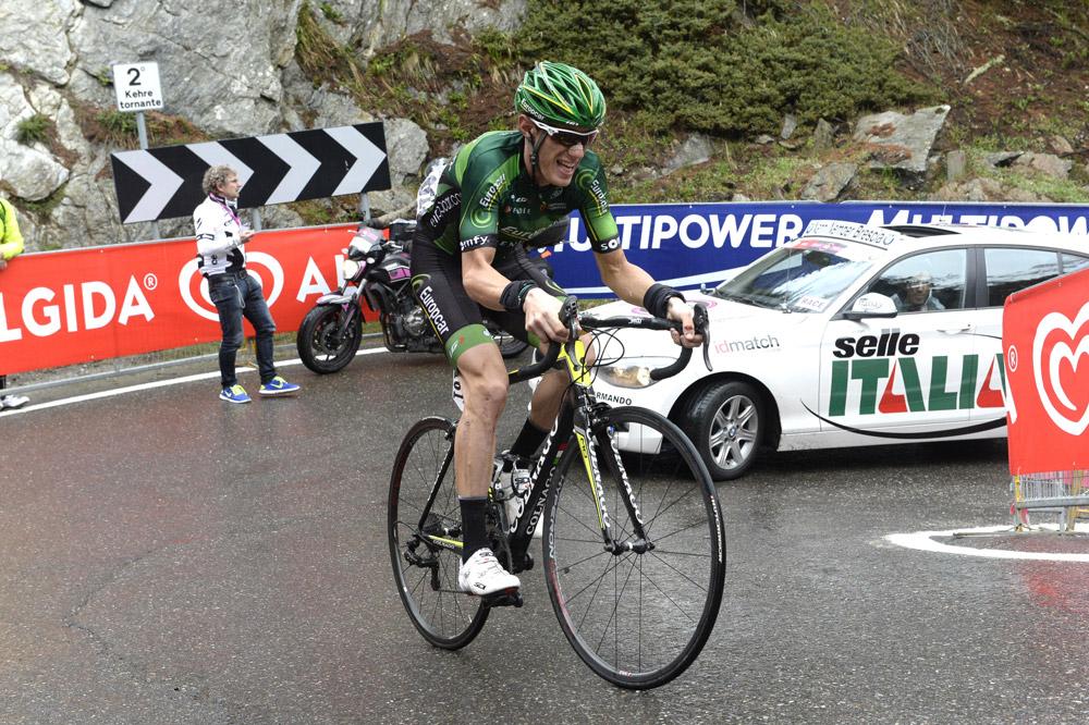 Pierre Rolland se rapproche du podium
