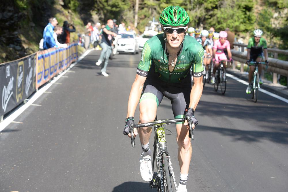 Pierre Rolland attaque pour aller chercher la 3ème place
