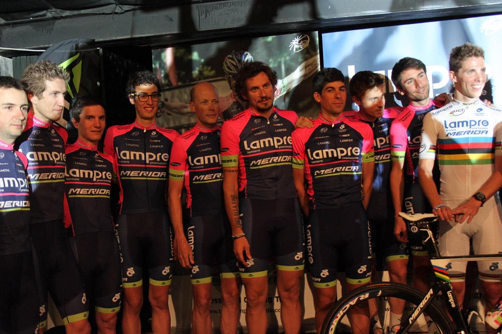 L'équipe Lampre-Merida présentée à Majorque