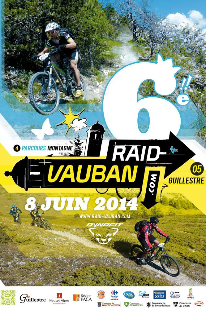 L'affiche du Raid Vauban