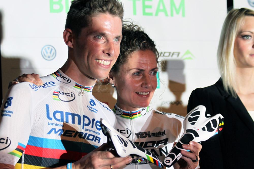 Deux champions du monde pour le prix d'un : Rui Costa aux côtés de Gunn-Rita Dahle