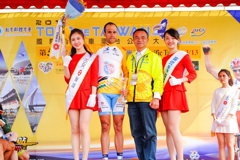Rémy Di Gregorio vainqueur du Tour de Taiwann