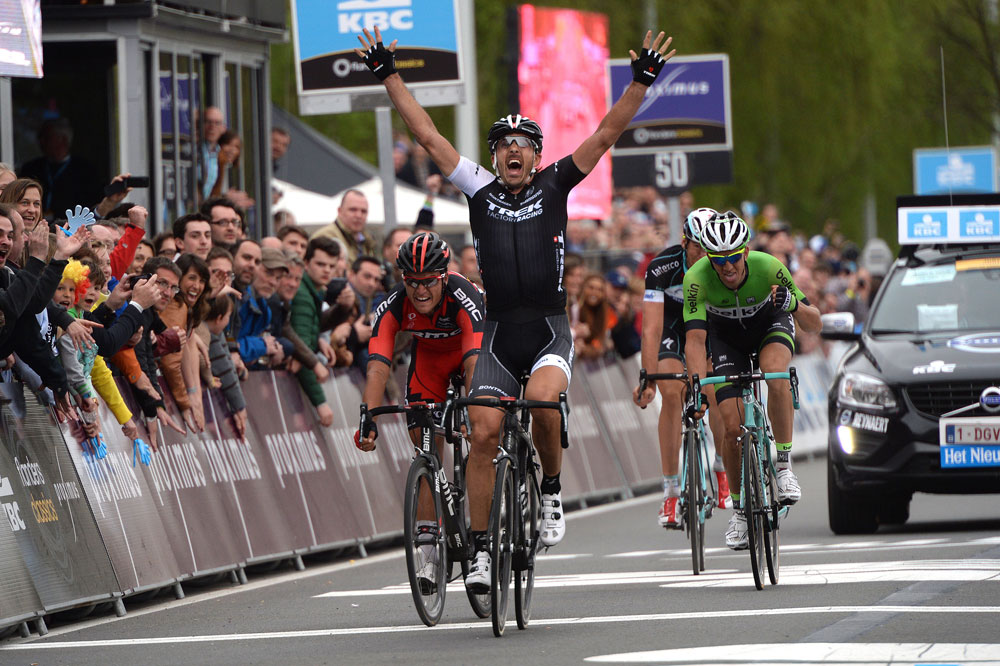 Au sprint, Fabian Cancellara remporte le Tour des Flandres