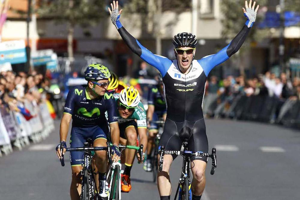 Première victoire de l'année pour Sam Bennett