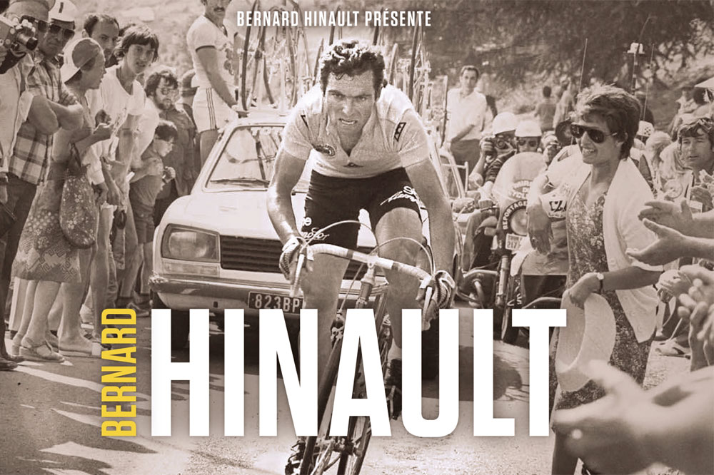 Un ouvrage sur Bernard Hinault
