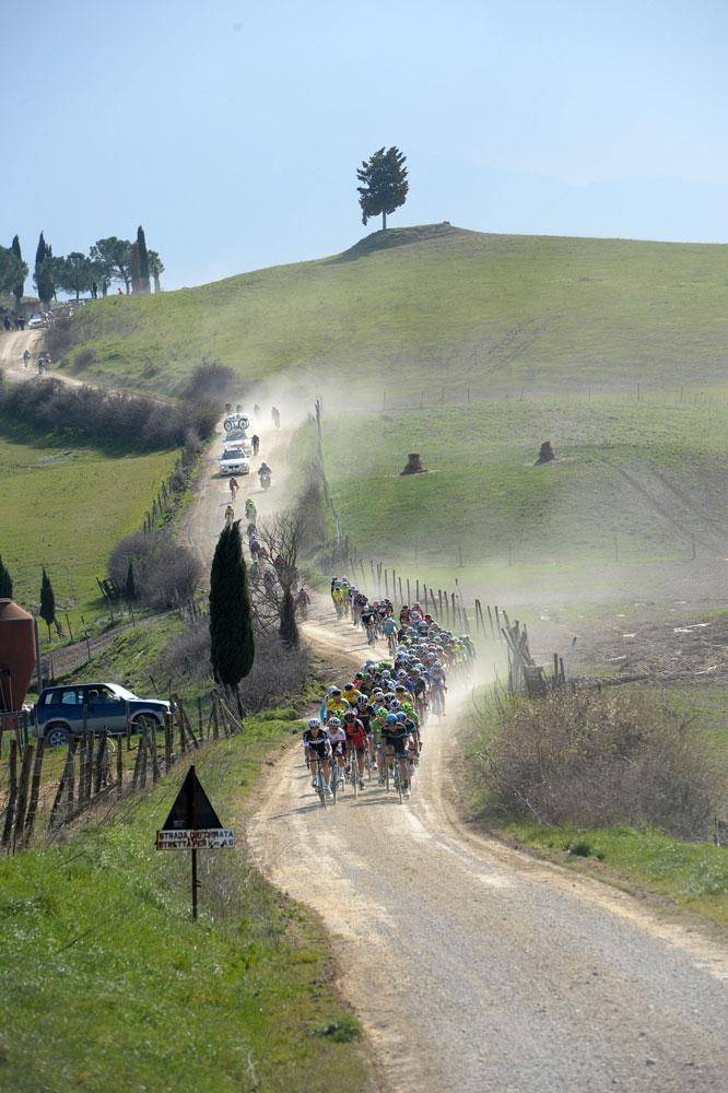 Les Strade Bianche en Toscane