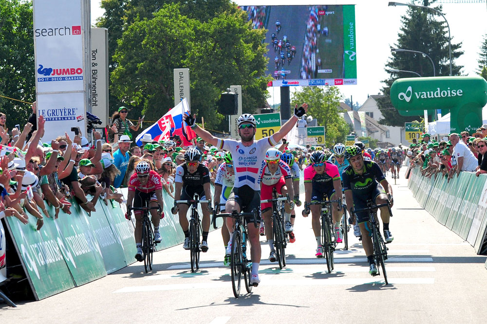 Mark Cavendish s'impose au sprint