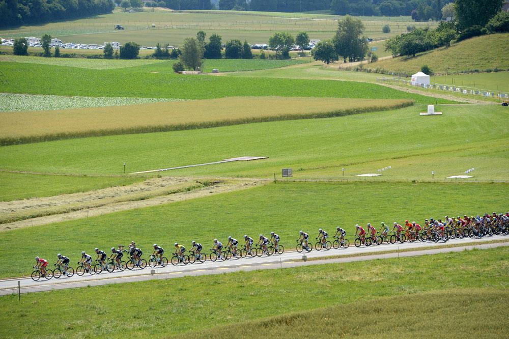L'équipe Omega Pharma-Quick Step emmène le peloton