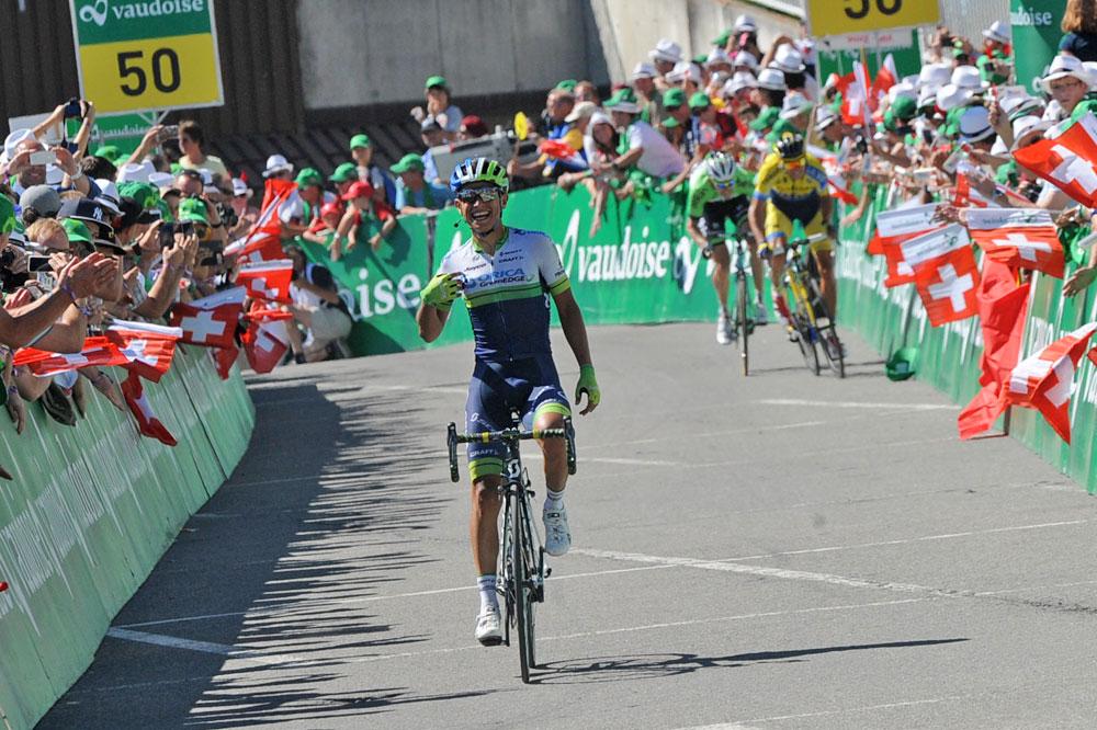 Johan-Esteban Chaves victorieux à Verbier