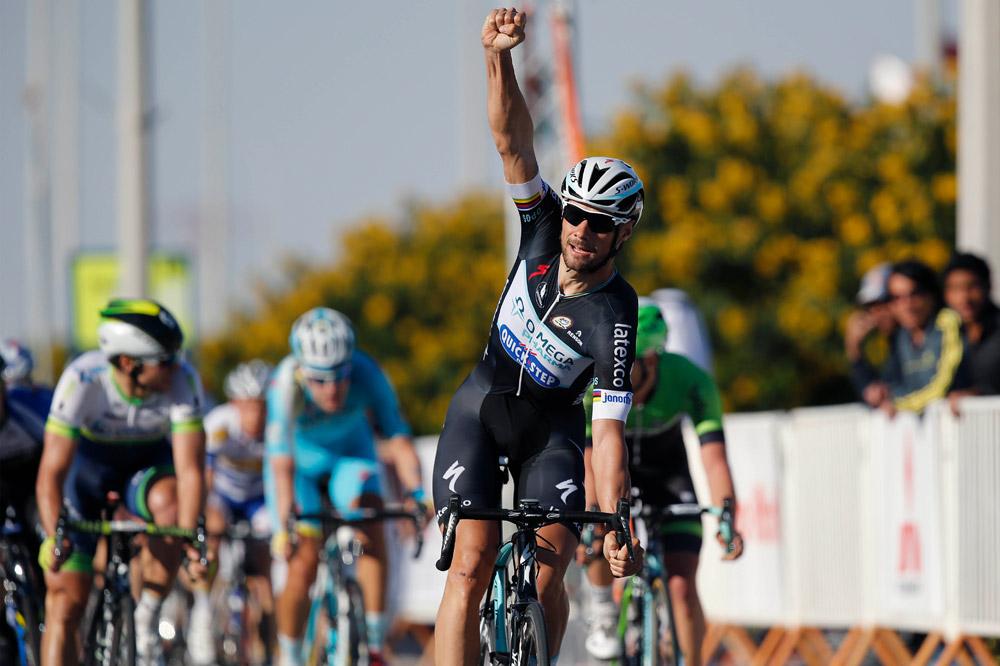 Tom Boonen signe sa 22ème victoire d'étape au Qatar