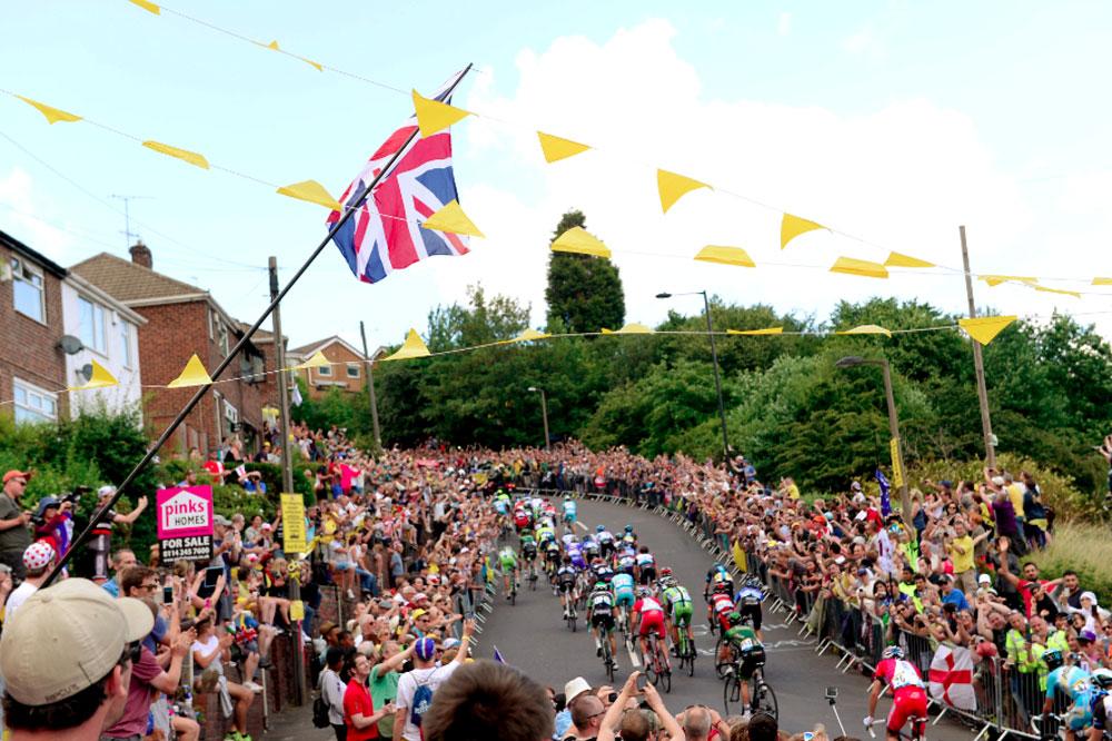 Extraordinaire succès populaire du Tour dans le Yorkshire