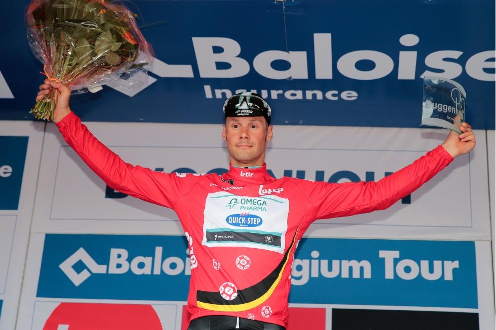 Tom Boonen leader provisoire du Tour de Belgique