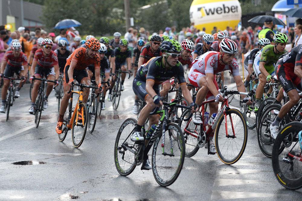 Le peloton connaît l'enfer au Tour de Pologne