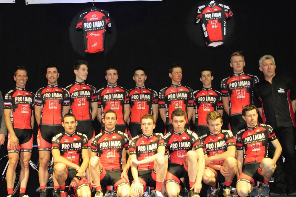 Le Team Pro Immo Nicolas Roux en 2014