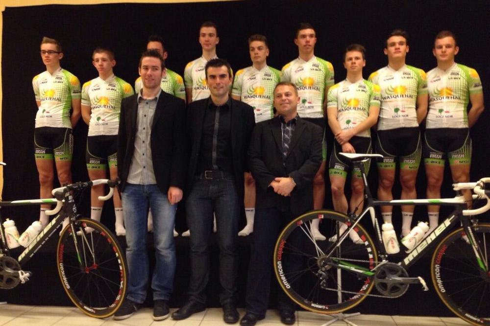 Le Team Wasquehal Junior en 2014