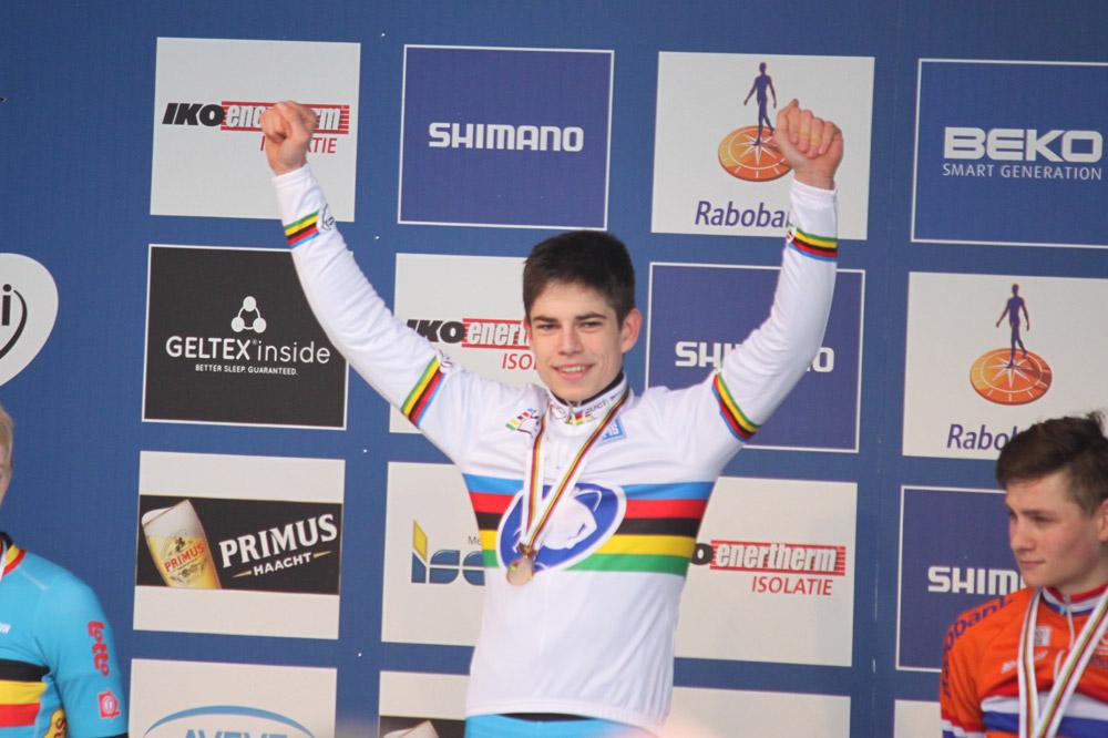 Wout Van Aert, champion du monde