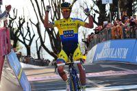 Contador fait le show !