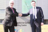 Brian Cookson et David Lappartient entérinent le transfert du siège de l'UEC