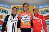 Le podium de l'Etoile de Bessèges