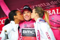 Cadel Evans retrouve le maillot rose