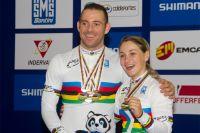 François Pervis et Kristina Vogel