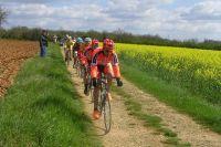 Sur les chemins non asphaltés de la Charente
