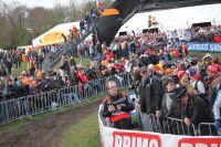 La foule est présente en masse à Hoogerheide