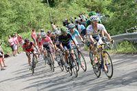Les hommes forts du Giro s'expliquent dans les Alpes