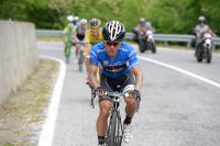 Julian Arredondo défend son maillot bleu