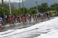 Un orage de grêle s'abat sur le Giro