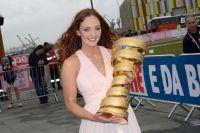 Le trophée du Giro entre de bonnes mains
