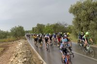 Le Giro prend la pluie