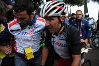 Au Mont Cassin, Joaquim Rodriguez vient de perdre le Giro