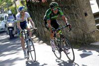 Davide Malacarne roule devant Pieter Weening