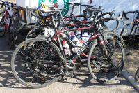 Le vélo du Team Vulco-VC Vaulx-en-Velin