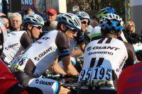 Les coureurs de l'équipe Giant-Shimano