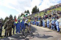 C'est la foule des grands jours dans le Monte Zoncolan
