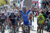 Bouhanni comme une bombe
