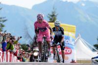 Nairo Quintana met un point d'honneur à arriver devant Rigoberto Uran