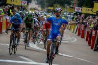 Nacer Bouhanni fait parler sa pointe de vitesse en Corse