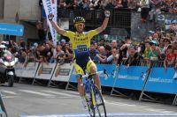 Contador remporte un duel de titans