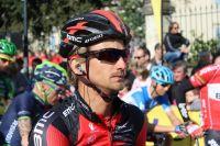Peter Velits au départ de la 6ème étape