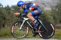 Le champion de France du chrono, Sylvain Chavanel
