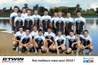 Les voeux du b'Twin U19 Racing Team